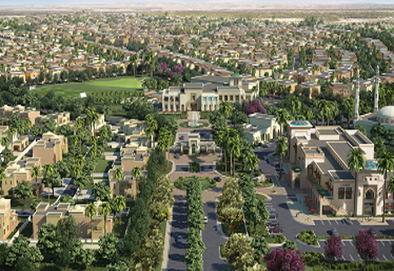 The proposed development is east of Arabian Ranches in Dubai.