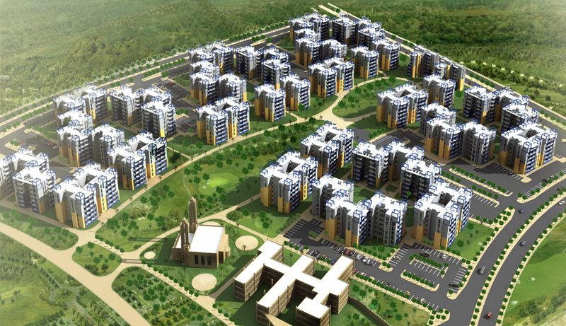 Image of one of Arabtec's proposed sites in Egypt