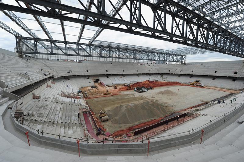 Arena da Baixada taken in December (Photo by Shaun Botterill/Getty Images)