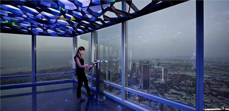 NEWS, Projects, Burj khalifa, Guinness book of records, Observation deck