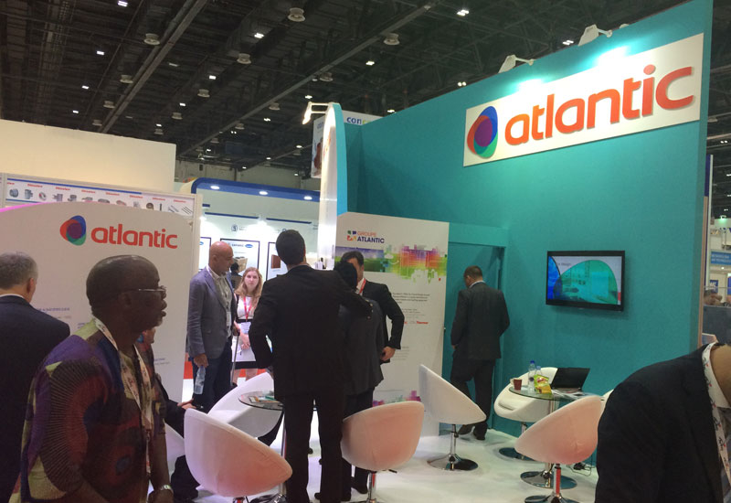 Atlantic's stand at The Big 5 2014.