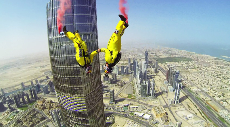 NEWS, Design, Base jump, Burj khalifa, World record, WSP Engineers