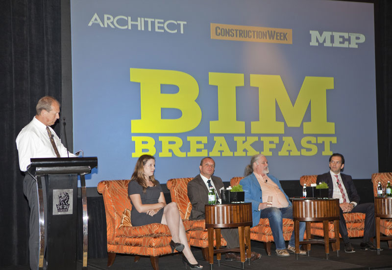 The panel discusses the best way to take advantage of BIM.