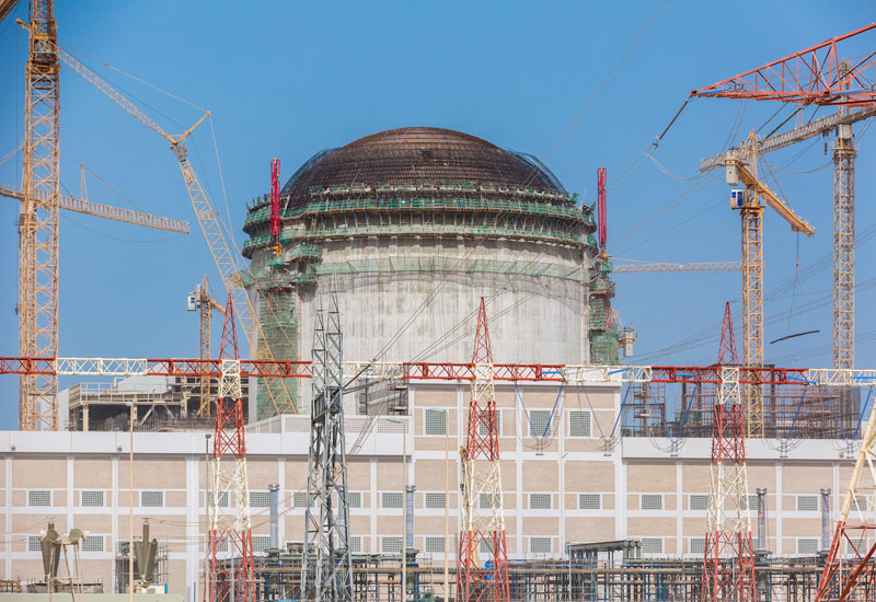 The installation of the 2,000-tonne containment liner plate at Unit 2 of the UAE's Barakah Nuclear Power Plant took around 15 months to complete.