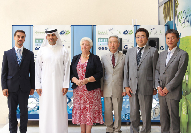 NEWS, Facilities Management, Bee'ah, Light bulbs, Recycling, Reverse Vending Corporation reVend®
