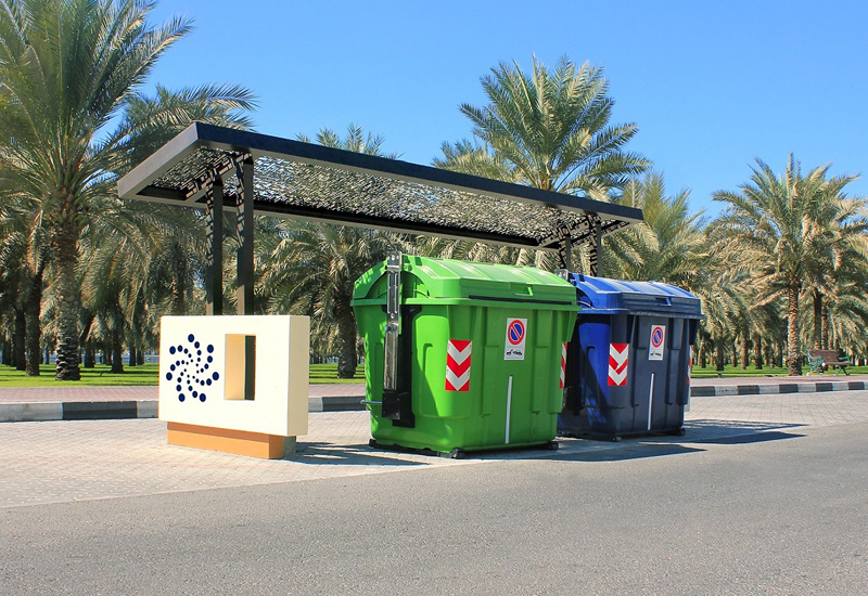 Bee'ah's Smart Bins can help cut collection costs by at least 20%.