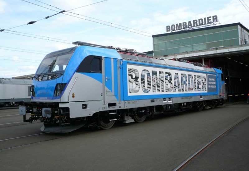A TRAXX locomotive