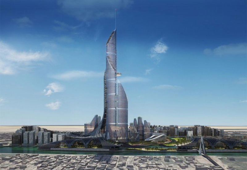 AMBS Architects' Bride Tower will feature 230 storeys, and will be topped by a 180m-tall antenna.