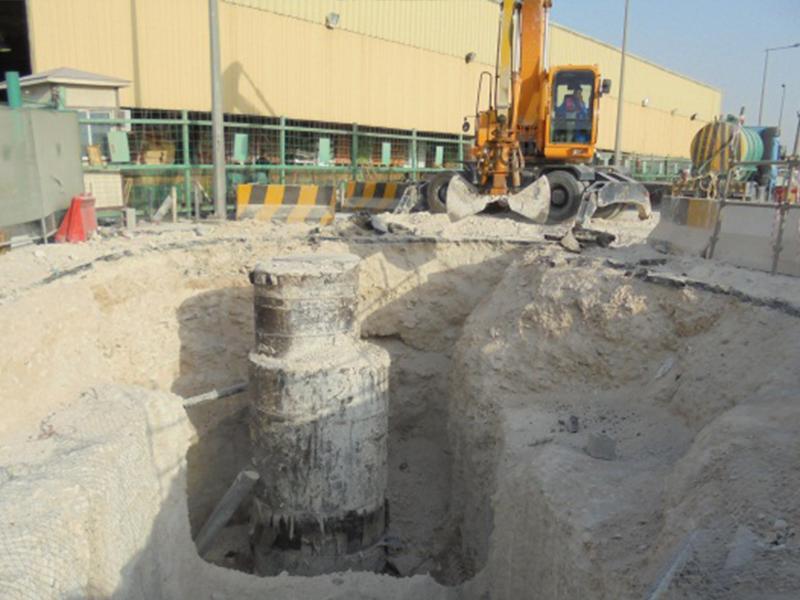 The Bu Hamour area of Doha.