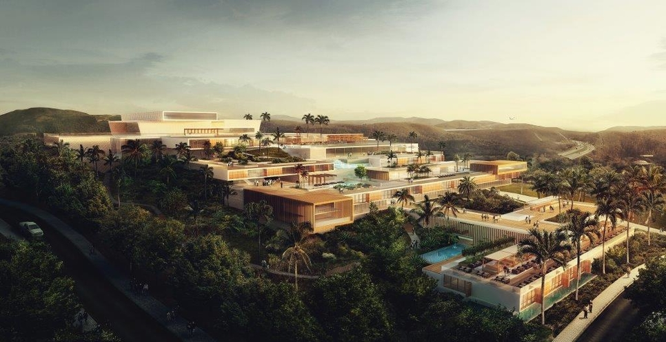 Proposed hotel at the Colinas De Catarina project.