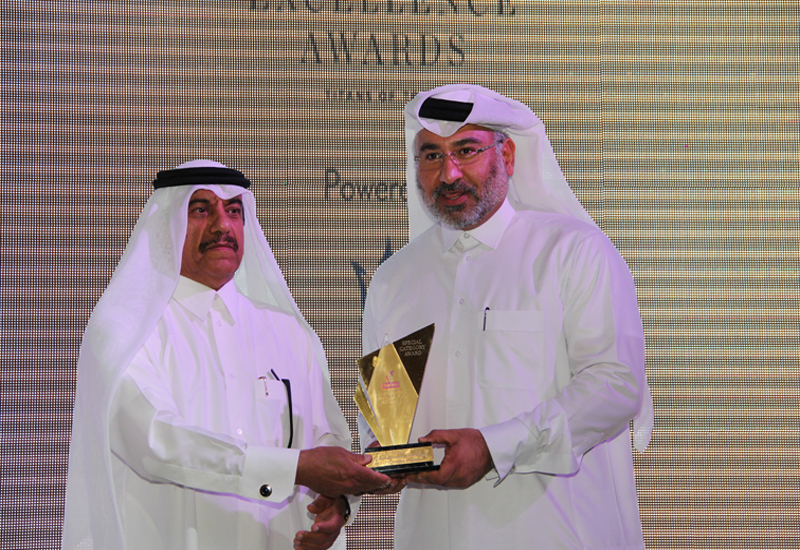 Eng. Abdulla Al Mehshadi, CEO, Msheireb Properties (right).