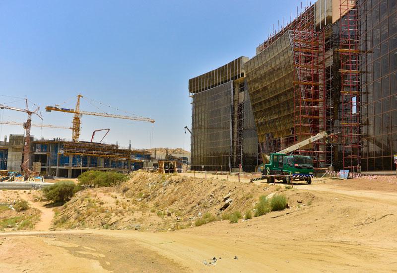 The King Khalid University project in Abha, Saudi Arabia