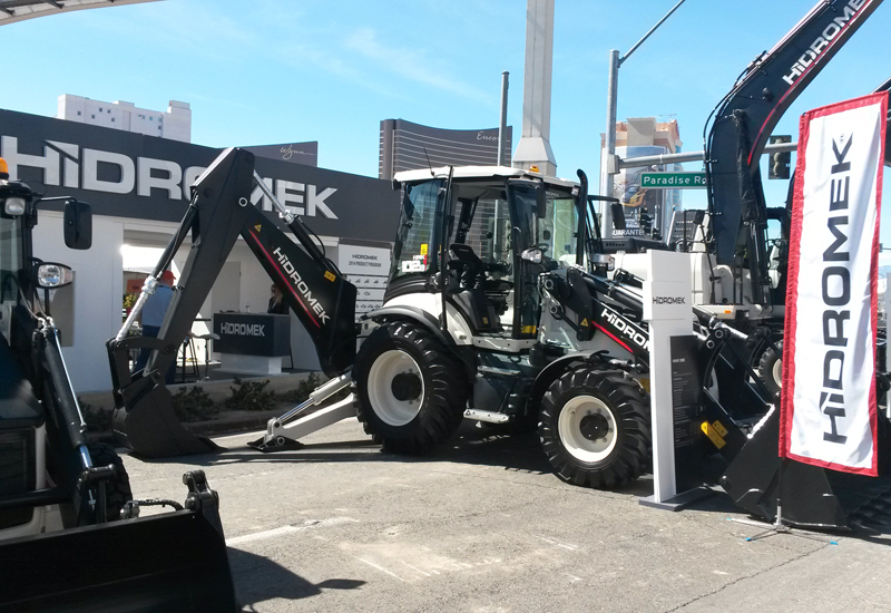 Hidromek's prime position and handpicked line-up turned heads in Las Vegas.