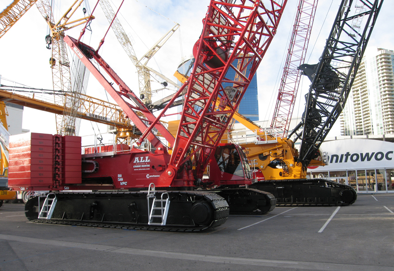 Manitowoc's VPC system has been designed to reduce costs for crawler crane operators.
