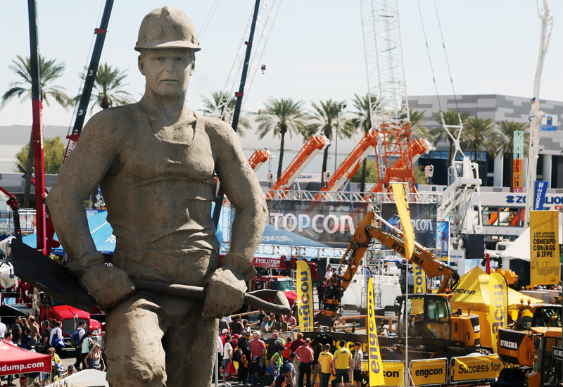 Almost 130,000 people attended the Las Vegas construction event.