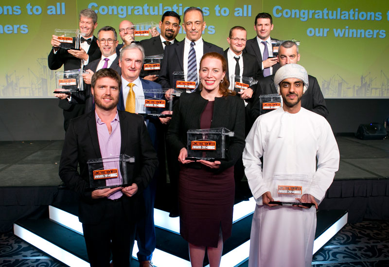SPECIAL REPORTS, CW awards, Construction Week, Construction week awards 2015, CW Awards 2015