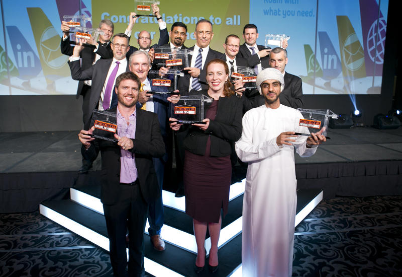 All nominations for Construction Week Awards 2015 must be submitted by Wednesday, 14 October, 2015.