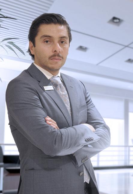 Carlos Salas, regional director Middle East, Crystal Lagoons.