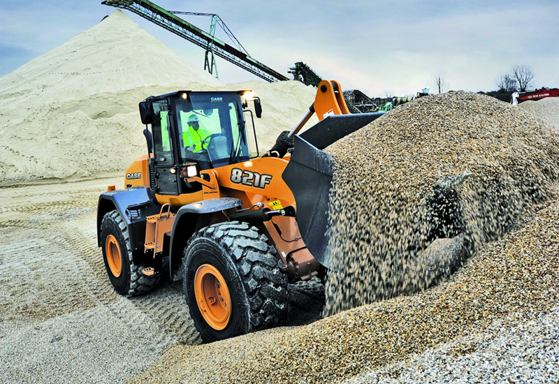 SiteWatch will come as standard on Case's F Series wheel loaders.