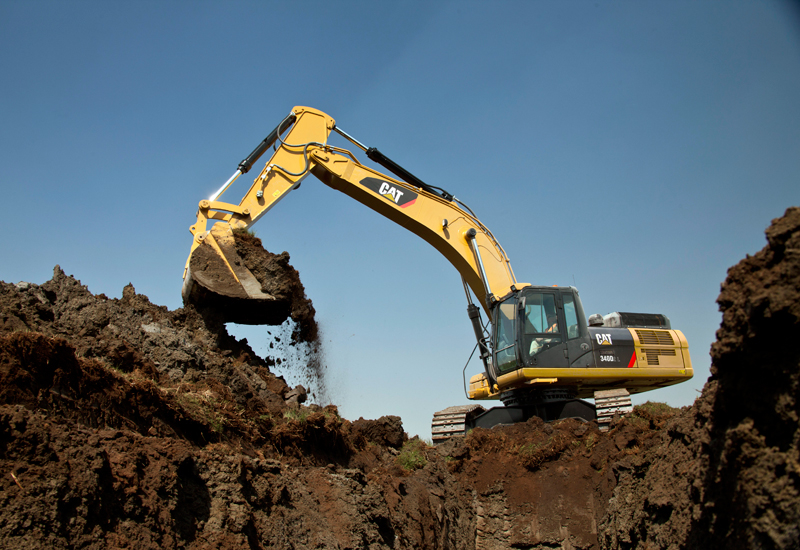 The 340D2 L is the latest of Cat's D Series excavators to be redesigned for the Middle East and Africa markets.