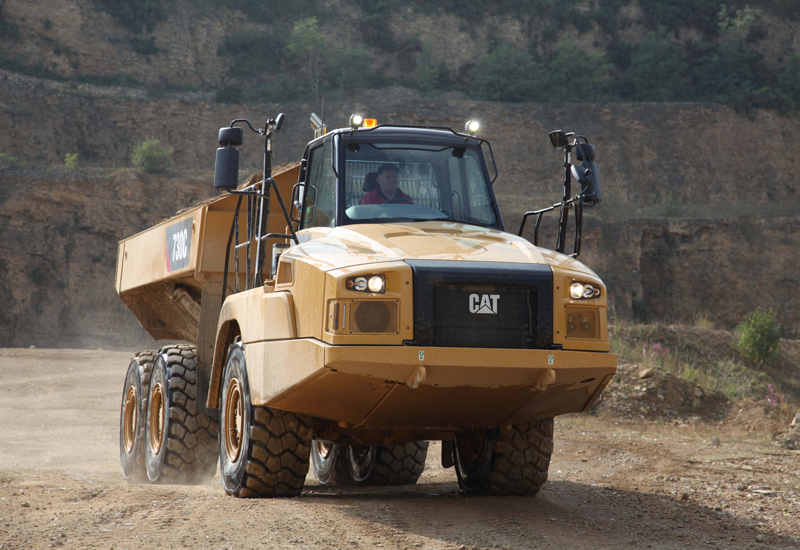 Caterpillar's sales and revenues during 2013 were $55.656bn.