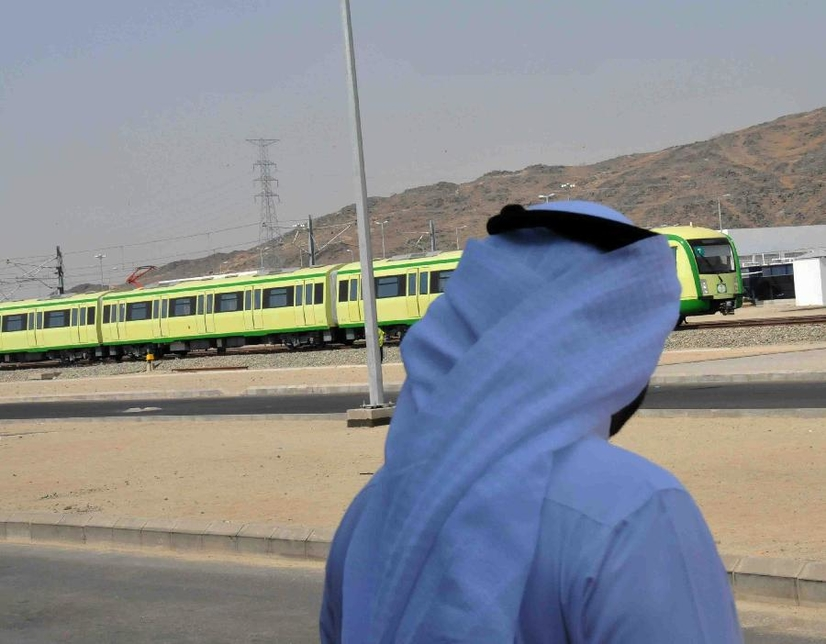 Light rail system in Makkah Built by China Railway Engineering Corp