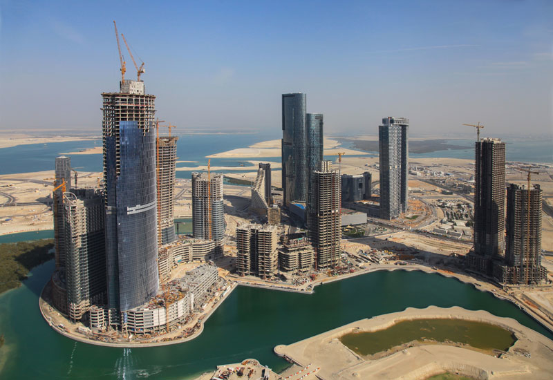 The City of Lights development which is also on Reem Island, Abu Dhabi.