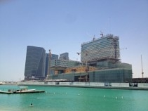 NEWS, Projects, Aldar, Cleveland clinic abu dhabi, Mubadala, Project delays, Samsung C&T, Six Construct