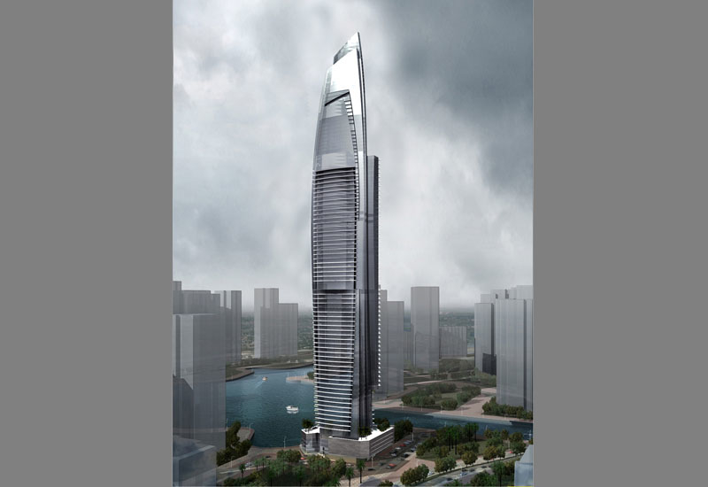 Damac Heights is currently under construction in Dubai Marina.