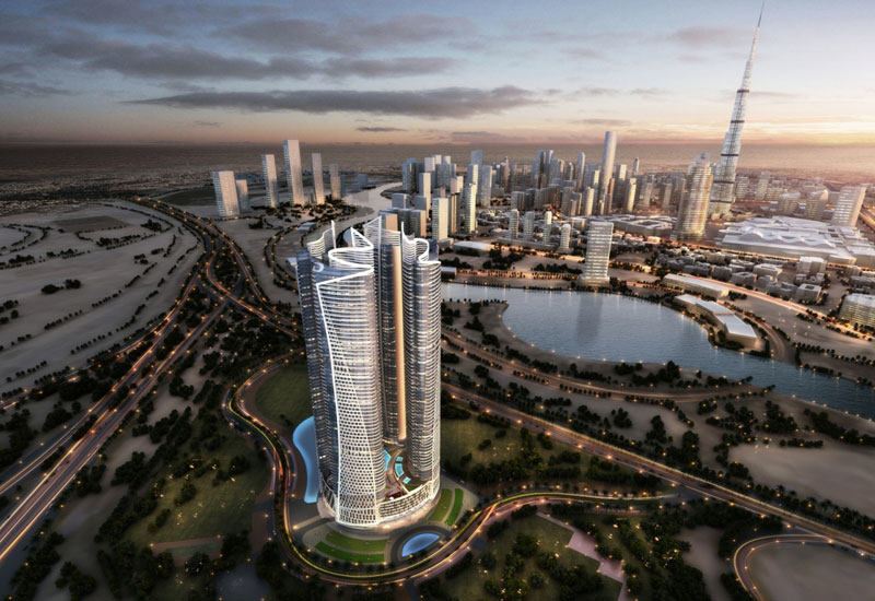 Artist's render of Damac Towers by Paramount