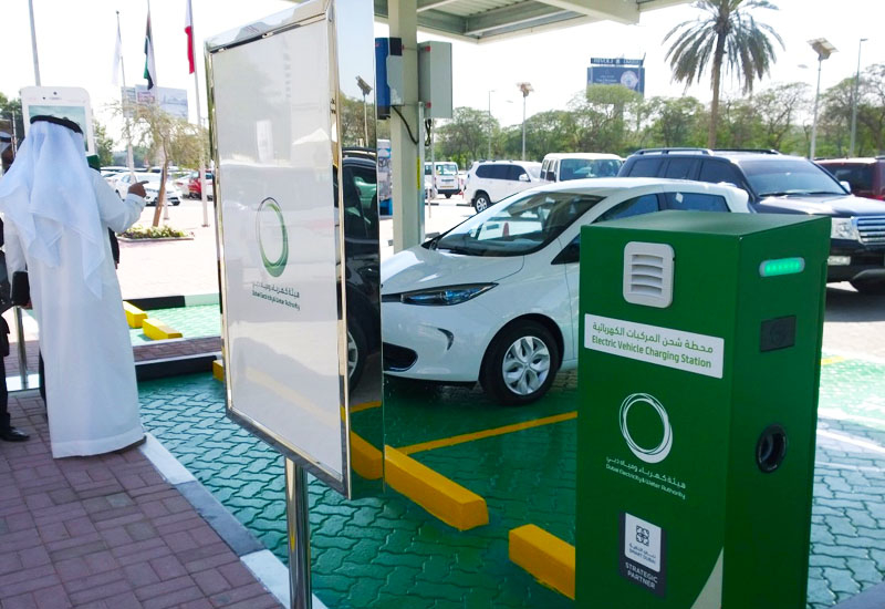 DEWA's Green Charger stations will additionally be solar-powered – thereby emitting no greenhouse gases into the atmosphere.