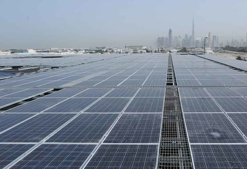 DEWA's training programme focuses on the installation of photovoltaic solar panels.