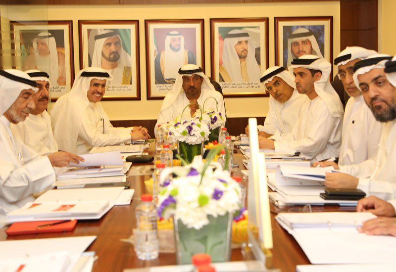 The council meeting discussed a variety of initiatives and programs including green transportation, retrofitting structures and Shams Dubai.