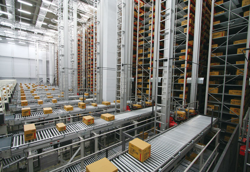A Daifuku package ASRS in action.