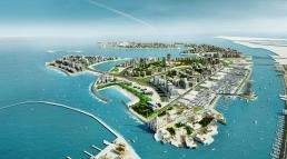 Deira Islands masterplan