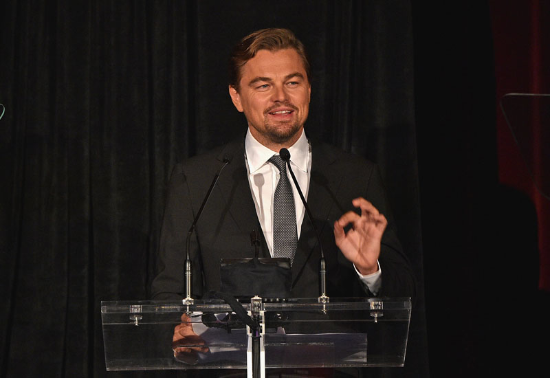 DiCaprio is an ardent environmental supporter.