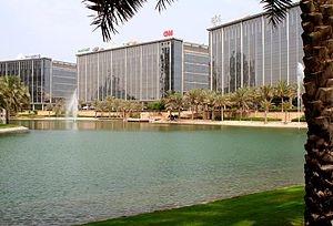 Dubai Media City, part of Tecom Investments.