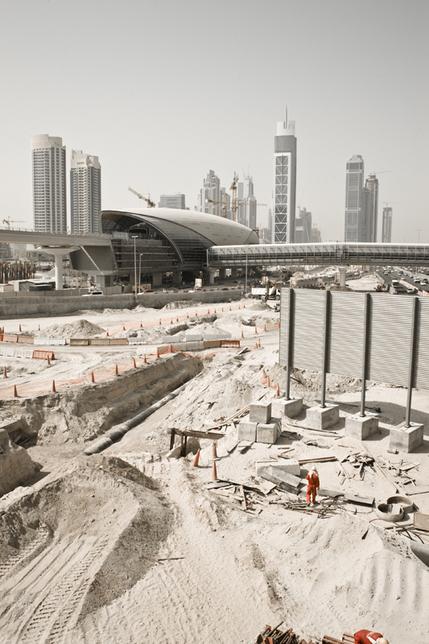 Dubai Metro, file image.