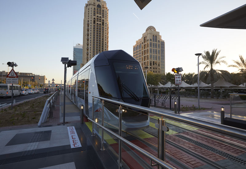 Besix worked with Alstom on the delivery of the $1bn Dubai Tram project