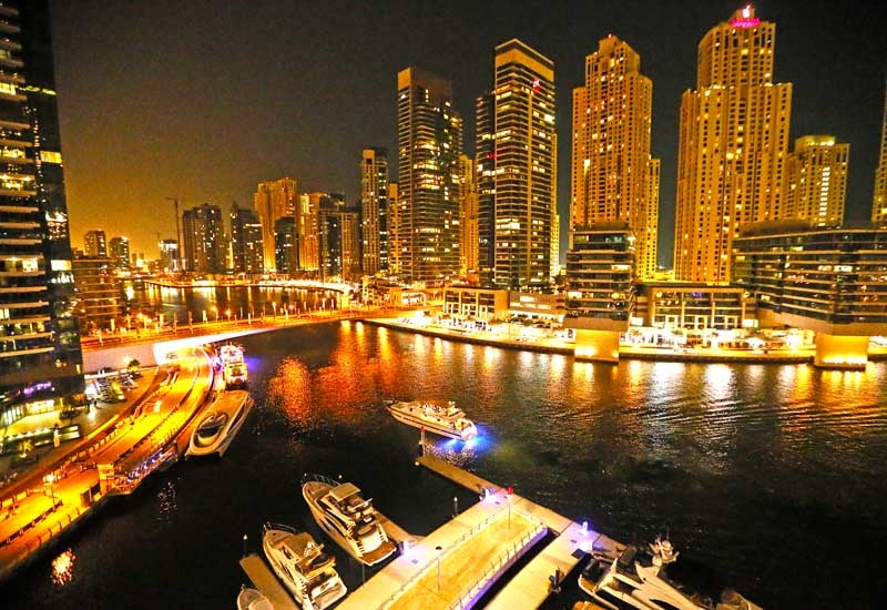 Dubai Marina remains a key investment area for developers in Dubai. Image: Getty.