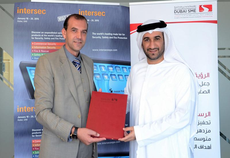 Ahmed Pauwels, CEO, Epoc Messe Frankfurt GmbH and Abdul Baset Al Janahi, CEO, Dubai SME.