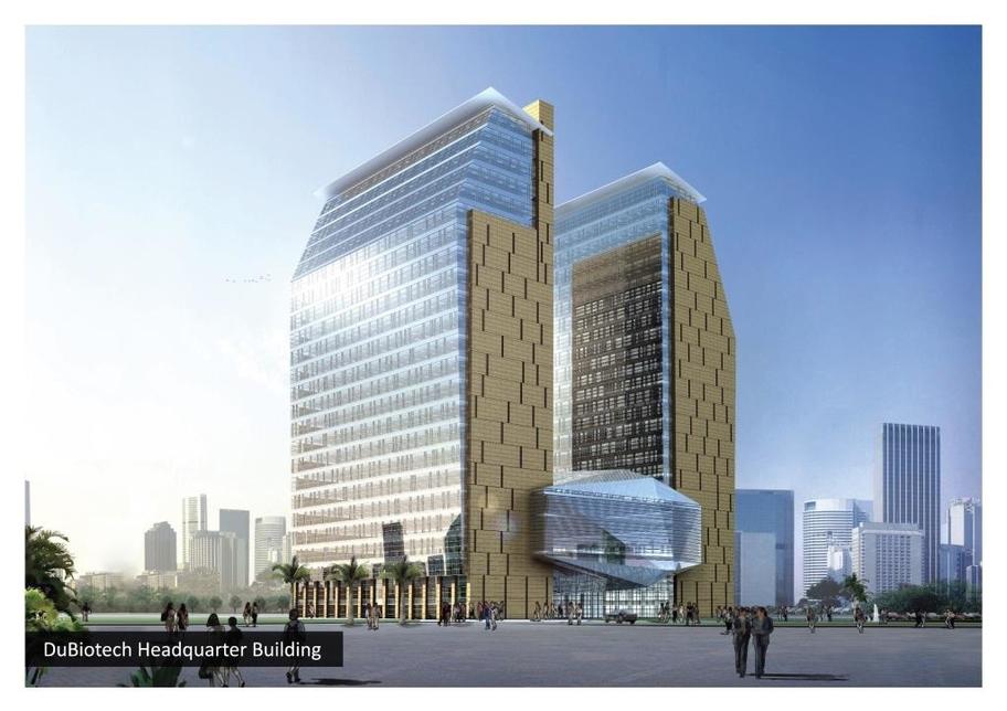 DuBiotech Headquarters Building.