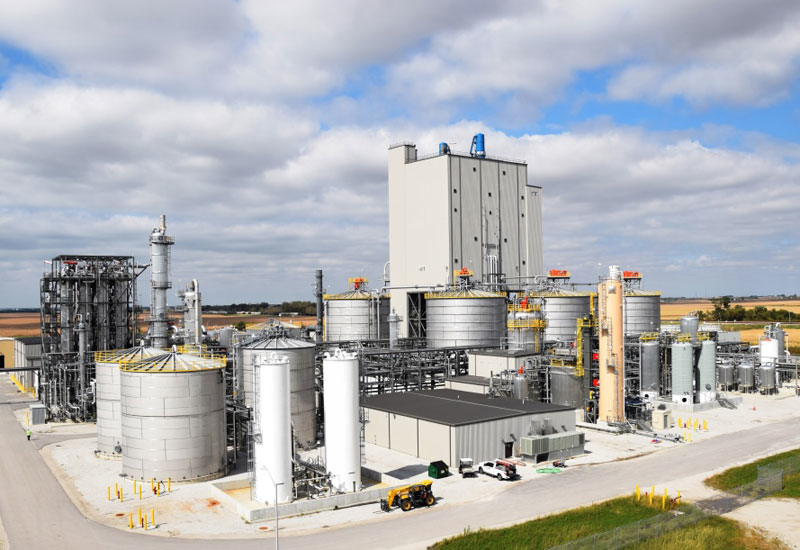 DuPont's cellulosic ethanol plant is based in Nevada, Iowa, US.