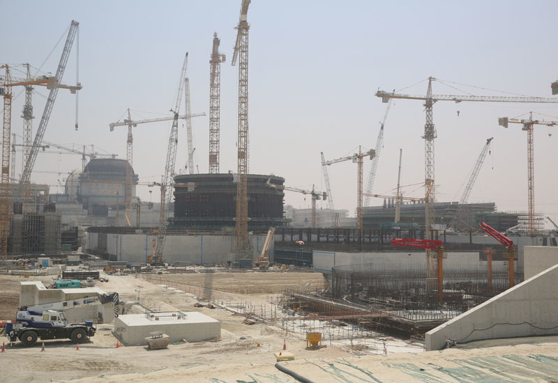 Alternative resources: the UAE is building Barakah Nuclear Power Plant (NPP) in Abu Dhabi.