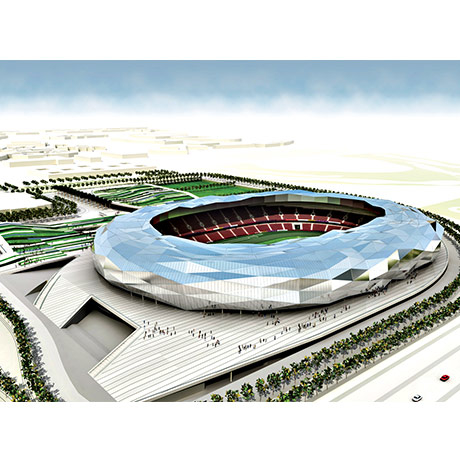 Education City stadium render.