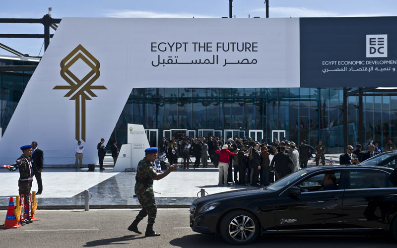 The announcements were made at the Egypt The Future Economic development forum at Sharm El Sheikh