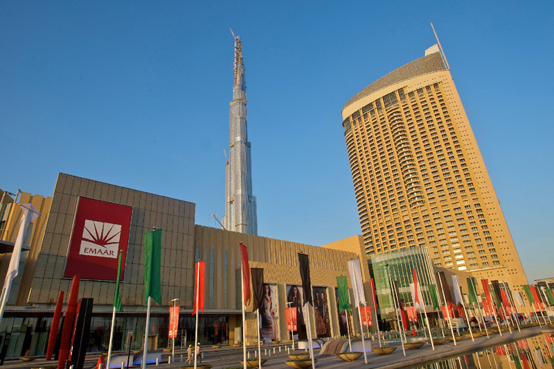 Emaar is Dubai's largest property developer.