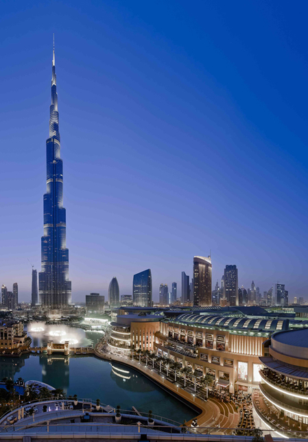 Downtown Dubai by Emaar Properties.