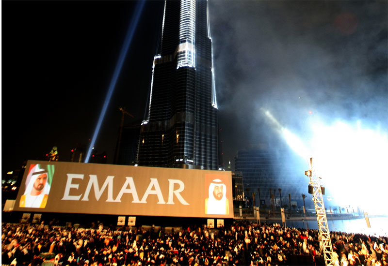 Emaar is lifting the Dubai bourse