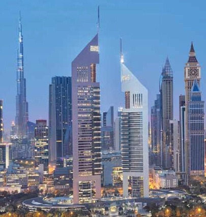 Empower's district cooling system will enable the Emirates Towers property to save approximately 80% in energy costs.